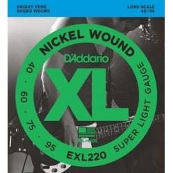 D'ADDARIO EXL-220 Nickel 40-95