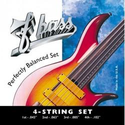 Juego FBASS 4 Cuerdas