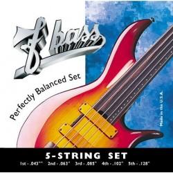 Juego FBASS 5 Cuerdas