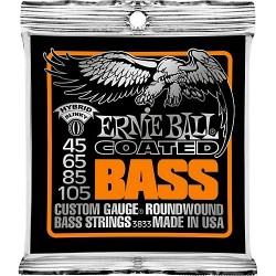 Juego Cuerdas ERNIE BALL BASS Hybrid Slinky Coated 45-105