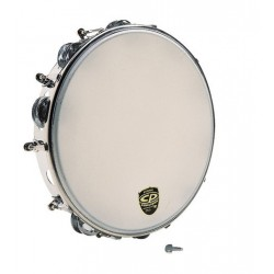 "Pandereta LP CP392 CP tambourine, tunable metal 10"""
