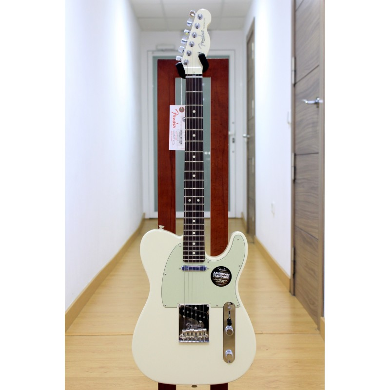 Guitarra Electrica FENDER American Standard Magnificent Seven Telecaster 2016 Limited Edition Olympic White RW