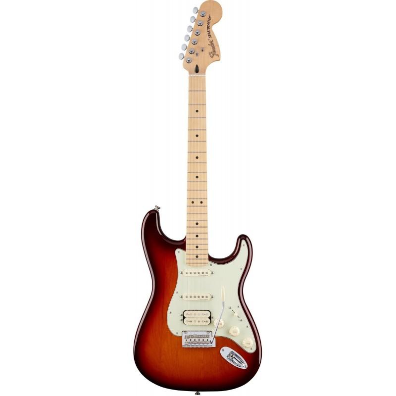 Guitarra Electrica FENDER Deluxe Strato HSS Tobacco Sunburst MN