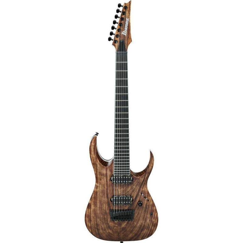 Guitarra Eléctrica IBANEZ RGAIX7U Iron Label Antique Brown Stained