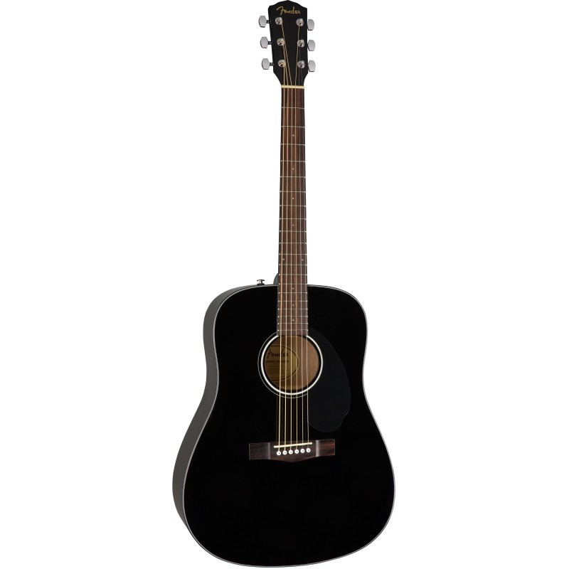 Guitarra Acústica FENDER CD-60S Black