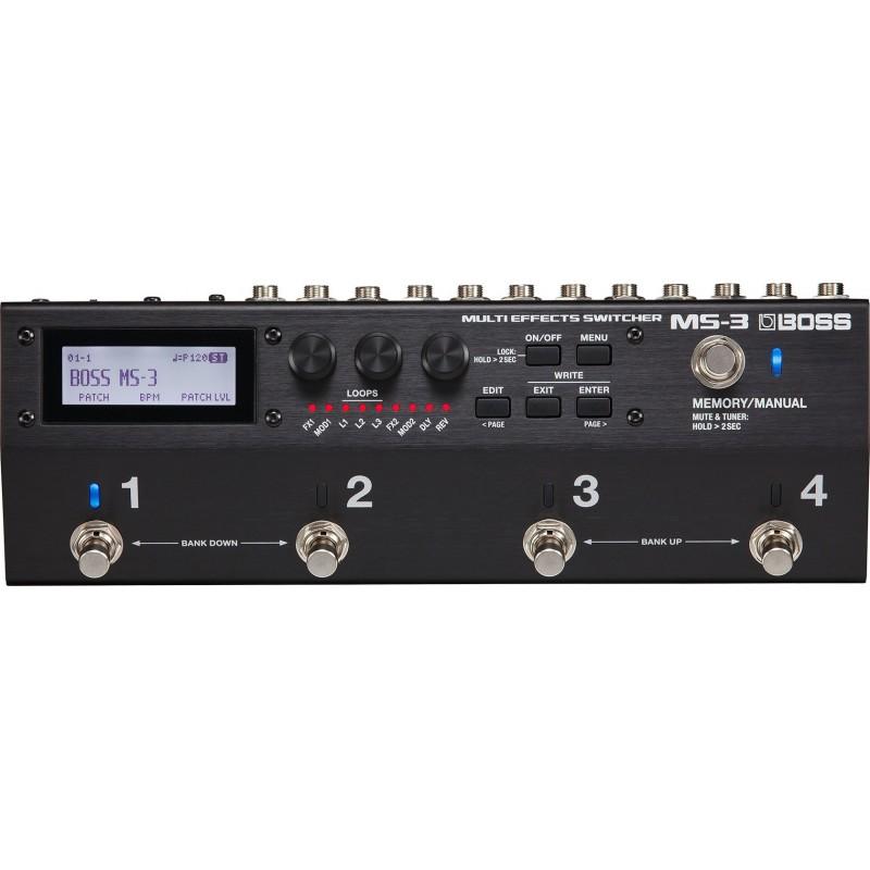 Multiefectos BOSS MS3 Switcher