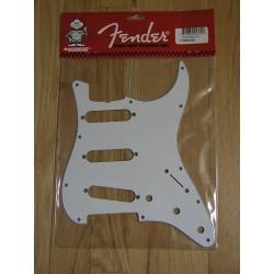 Golpeador FENDER '62 Stratocaster 3 Ply White