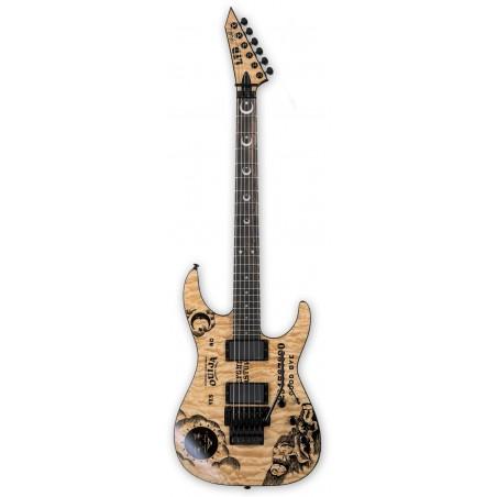 Guitarra Electrica LTD Kirk Hammett Ouija Edicion Limitada 2017