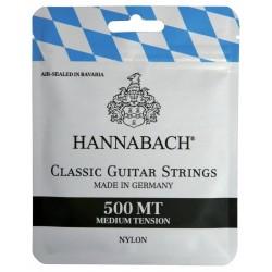 Cuerdas Clasica HANNABACH 500-MT Tension Media