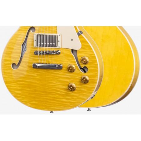 Guitarra Electrica GIBSON ES-LP Trans Amber