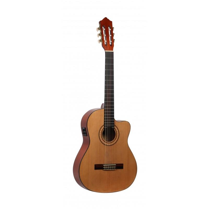 Guitarra Flamenca MOLINA CGFLC-EQ Cutaway Electrificada