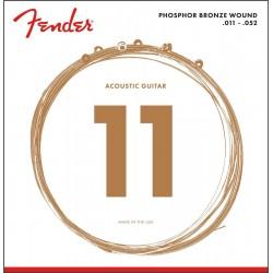 Cuerdas Acustica FENDER Phosphor Bronze 60CL (11-50)