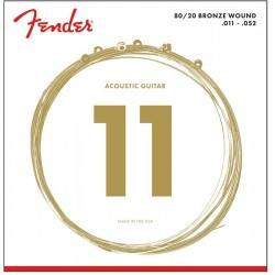 Cuerdas Acustica FENDER Bronze 70CL (11-52)