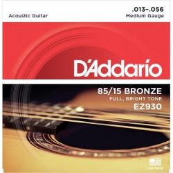Cuerdas Acustica D´ADDARIO EZ-930 Bronce (13-56)