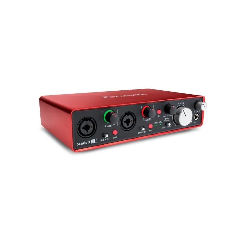 Interface Audio FOCUSRITE Scarlett 2I4 2nd GEN