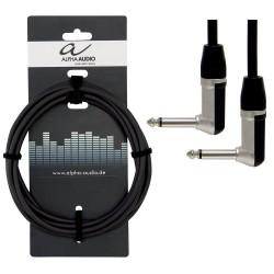 Cable ALPHA AUDIO Pro Line Jack-Jack Acodado-Acodado 30cm