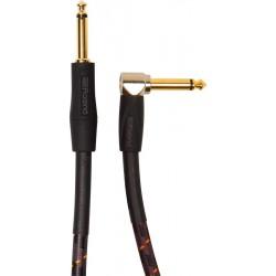 Cable ROLAND RIC-G20A Gold Jack-Jack Recto-Acodado 6m