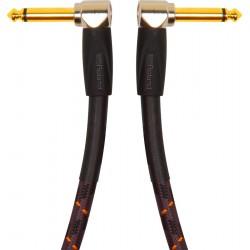 Cable ROLAND RIC-G1AA Gold Jack-Jack Acodado-Acodado 30cm