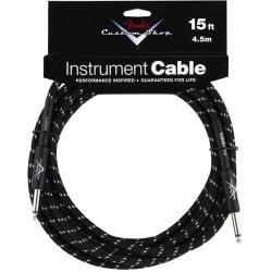 Cable FENDER Custom Shop Black Tweed 4,5m Foto: \192
