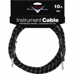 Cable FENDER Custom Shop Black Tweed 3m Foto: \192