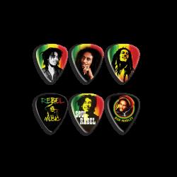 Puas DUNLOP Bob Marley BOB-PT24 (Caja 6 Uds.) Foto: \192