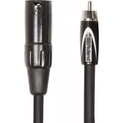 Cable ROLAND RCC-5-RCXM Black Series  1 RCA - 1 XLR M 1,5m Foto: \192