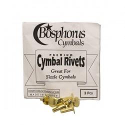 Rivetes / Sizzle BOSPHORUS Brass (3 Unidades) Foto: \192