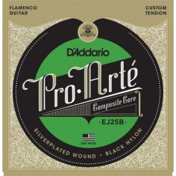 Cuerdas flamenco D´ADDARIO Pro Arte EJ25B Composite Black Nylon Foto: \192