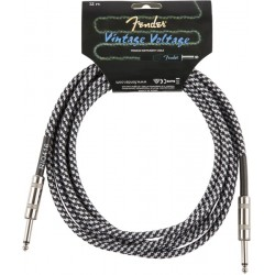 Cable FENDER Vintage Voltage Gray Tweed Jack-Jack 3m Foto: \192