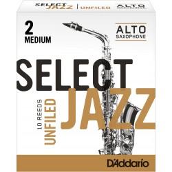 Caña Saxo Alto D´ADDARIO Woodwinds Select Jazz 2M Unfiled (1 Und.) Foto: \192