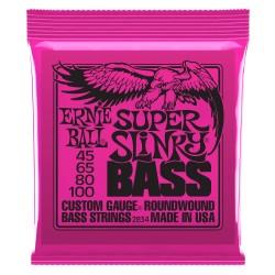 Cuerdas Bajo ERNIE BALL Super Slinky 2834 (45-100) Foto: \192