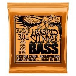 Cuerdas Bajo ERNIE BALL Hibryd Slinky 2833 (45-105) Foto: \192