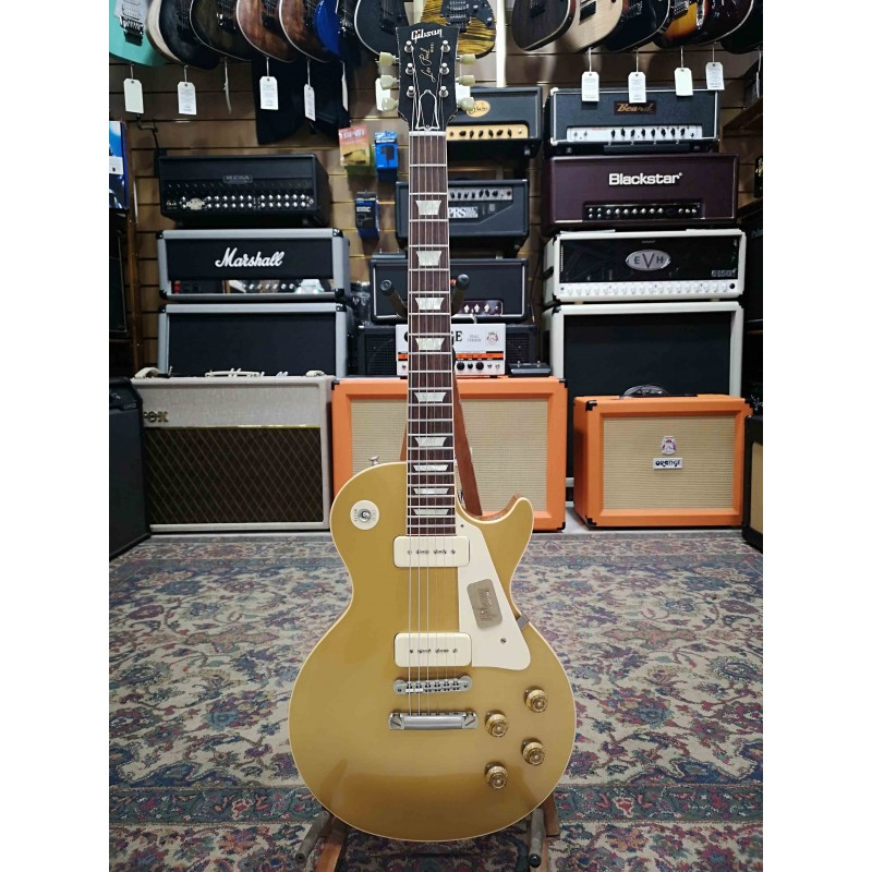Guitarra Electrica GIBSON Les Paul 1956 Goldtop Lightly Aged Foto: \192