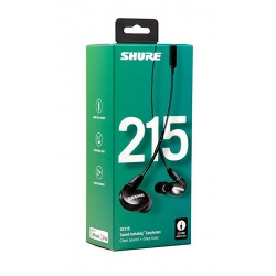 Auriculares In Ear SHURE SE-215K-UNI Foto: \192