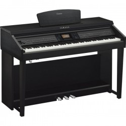 Piano Digital YAMAHA Clavinova CVP-701B Black Walnut Foto: \192