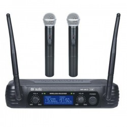 Microfono Inalambrico EK AUDIO WR-69LD Mano Dual Foto: \192