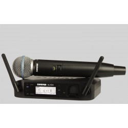 Microfono inalambrico SHURE GLXD24-E Vocal System Beta 58 Foto: \192