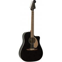 Guitarra Acustica FENDER Redondo Player Jetty Black Foto: \192