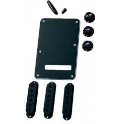 Kit accesorios FENDER Strat Negro 099-1363-000 Foto: \192