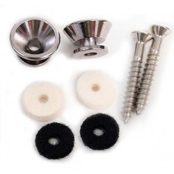 Enganche correa FENDER American Standard Series Strap Buttons Chrome (0063267049) Foto: \192