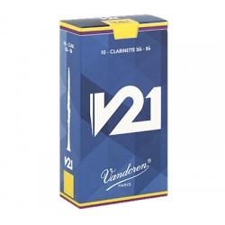 Caña Clarinete VANDOREN V21 2,5 (Precio por unidad) Foto: \192