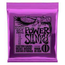 Cuerdas Electrica ERNIE BALL Nickel Wound Power Slinky 2220 (11-48) Foto: \192