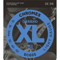 Cuerdas Electrica DADDARIO ECG25 Chromes Light (12-52) Foto: \192
