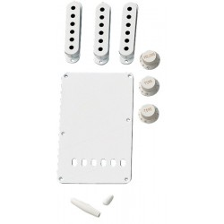 Kit Accesorios FENDER Stratocaster White (099-1362-000) Foto: \192