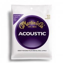 Cuerdas Acustica MARTIN Acoustic M175 (11-52) Foto: \192