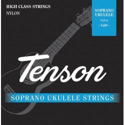 Cuerdas Ukelele TENSON Nylon Negro Soprano Foto: \192
