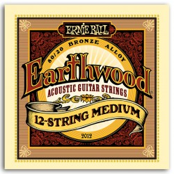 Cuerdas Acustica ERNIE BALL Earthwood 12 String Medium 2012 (11-52) Foto: \192