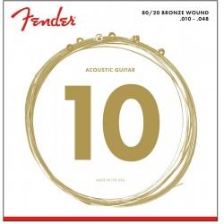 Cuerdas Acustica FENDER Bronze 70XL (10-48) Foto: \192