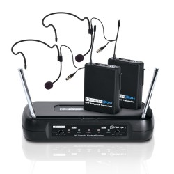 Microfono inalambrico LD SYSTEM ECO 2x2 HHD (Diadema) Foto: \192