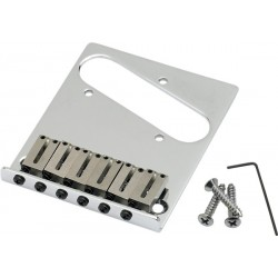 Puente FENDER Tele Bridge Assemby Chrome (099-0807-100) Foto: \192